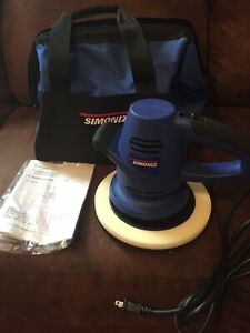 "8"" Random Orbit Buffer/polisher. With carry case"