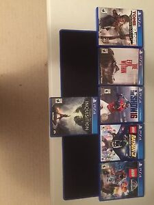 PS4 games need gone asap (Perfect Condition)