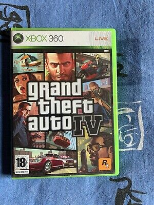 Used, Grand Theft Auto IV (Microsoft Xbox 360, 2008) - European Version for sale  Shipping to Nigeria