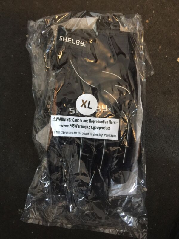 Shelby rope rescue gloves size XL (great for rock climbing rope handling)