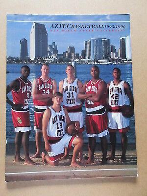 SAN DIEGO STATE UNIVERSITY 1995 1996 MENS BASKETBALL MEDIA GUIDE