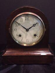 Antique Auris Pendulum Shelf Mantle Clock New Haven Clock Co.