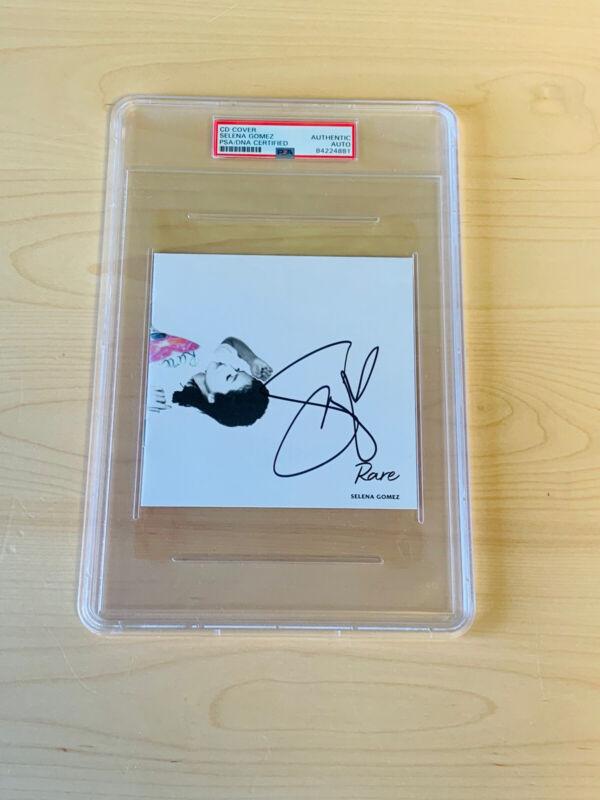 SOLD OUT Selena Gomez Signed Rare Cd Booklet PSA/DNA SLABBED #1