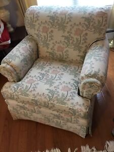 Upholstered chair and cover