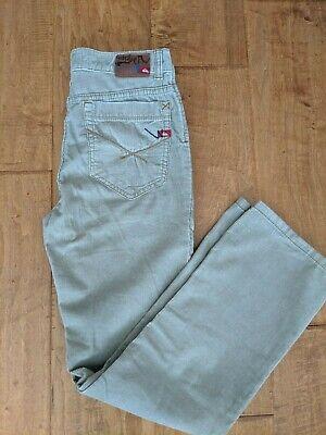 NEW Quicksilver boys Corduroy winter pants beige, khaki, size 27 Quicksilver Boys Pants