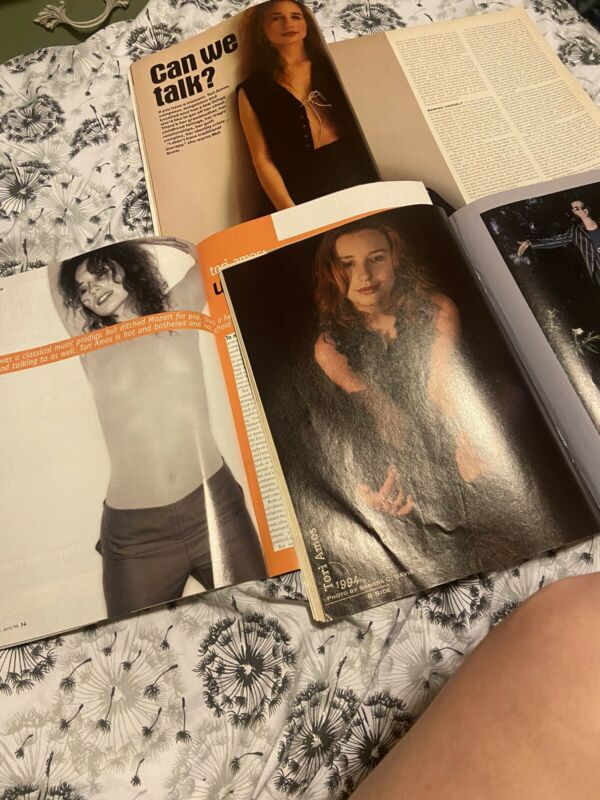 Tori Amos Magazine Lot Of 3