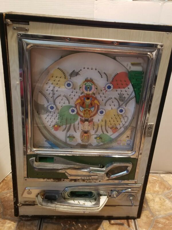 Vintage Sankyo Pachinko Machine. 70's 'ladybugs' untested. For Parts ONLY