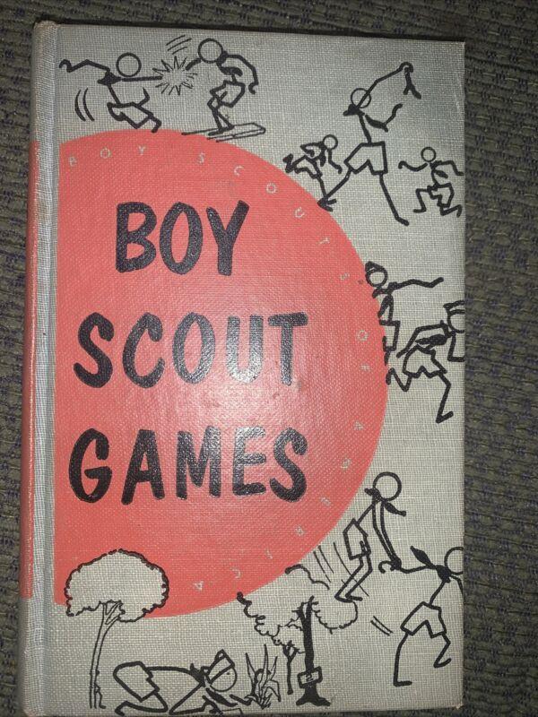 1952 Boy Scout Games Book  BSA
