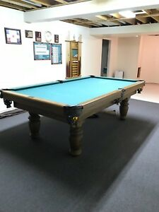 Oak Dufferin Pool Table