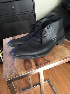 """Shoes - Men's (10.5) leather high-top """"Kenneth Cole"""""""