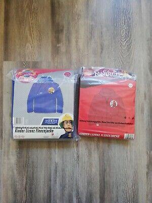 Ninjago / Feuerwehrmann Sam - Fleecejacke für Kinder - Jacke - NEU & OVP