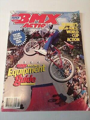 Bicycle Motocross Action magazine  bmx snap ride bmx action go mid old school zi