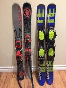 Snowblades w bindings - Great Condition!