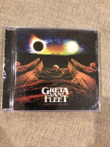 Greta Van Fleet **Anthem Of The Peaceful Army **BRAND NEW CD! Free Shipping ASAP