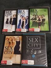 Sex and the City seasons 1-5 DVDs  Spencer Park Albany Area Preview