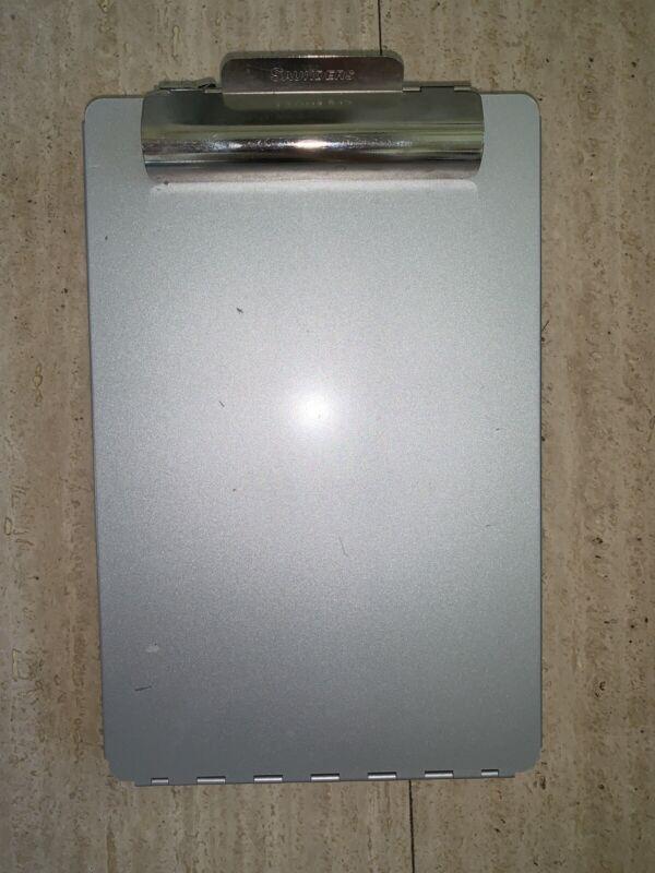"Aluminum Metal Contractors Clipboard by Sauders 13.5""x9""x1.25"""
