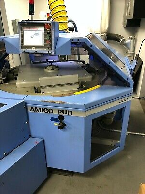Muller Amigo 2010 Perfect Binder With Nordson Pur Glue 4-clamp