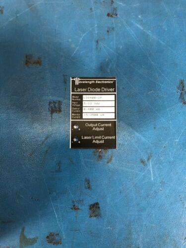 Wavelength Electronics LDD-400-1P Laser Diode Driver *30DAY ROR*