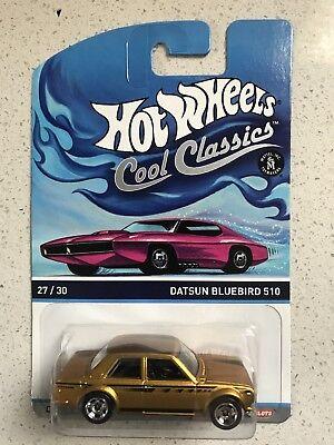 Hot Wheels 2013 Cool Classics Datsun Bluebird 510 Spectrafrost Gold Color