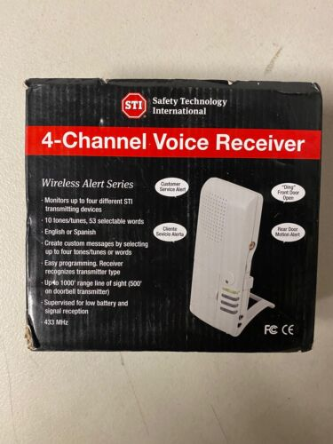 Safety First STI-V34600 Chanel Voice Receiver