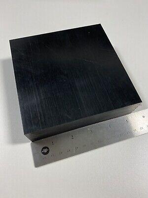1.5 Thick Delrin Acetal Black Sheet Stock 1.5 X 5.25x 5.25