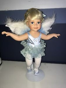 "The Ashton Drake Galleries ""never blue with you"" Porcelain Doll"