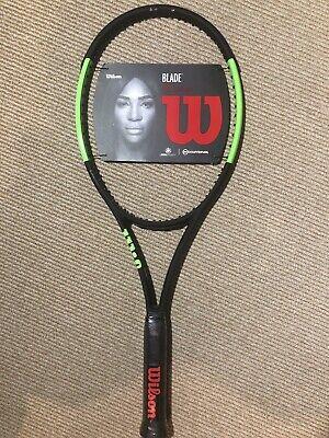 Dealer Warranty WILSON BLADE 98S 18x16 Countervail tennis racquet 4 1//4