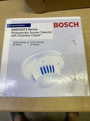 Bosch D273thc Fire Alarm 4-wire Smokeheat Detector With Relay
