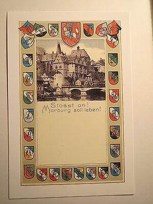 Marburg - Farbschilde und Zirkel - Burschenschaft Corps Turner ... / Studentika