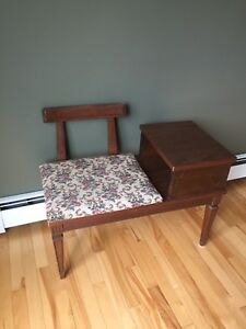 Antique Phone Table