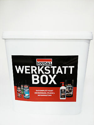 7-teilige Soudal Werkstatt-Box