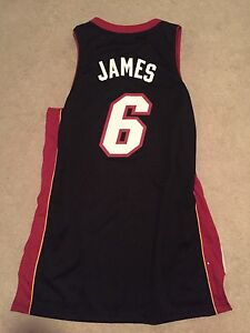Lebron James Heat jersey