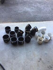 4 inch pvc and abs fittings