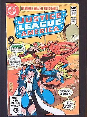 Justice League  America   #191    (DC  1981)    Zatanna     FN/VF