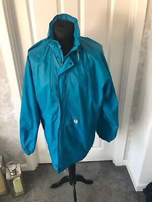 kway k-way vintage jacket turquoise XL Festival Jacket