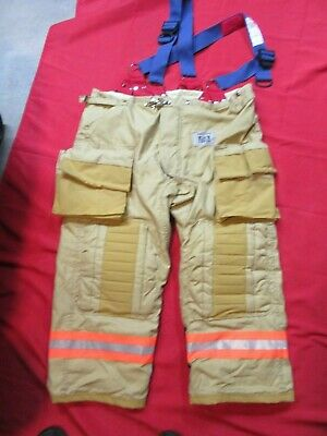 N.o.s. 48 X 29 Morning Pride Fire Fighter Turnout Pants Bunker Gear Rescue