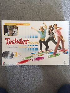 Twister Moves Game EUC