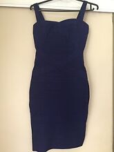 Navy blue bandage dress Kellyville The Hills District Preview