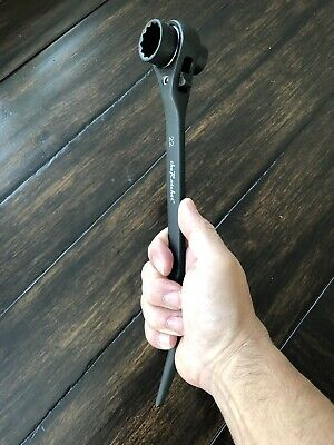 New Ver3.0 - Theratchet Scaffold Ratchet Socket Wrench 19 22mm Aka 34 - 78