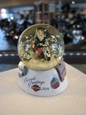 Harley-Davidson Schneekugel Snow Globe klein 5,5 cm Rock Christmas 96821-15V NEU