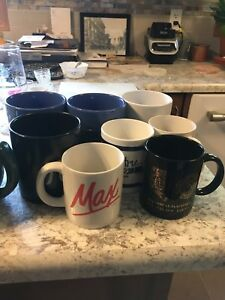 Water glasses, cups, tea cup, bowls