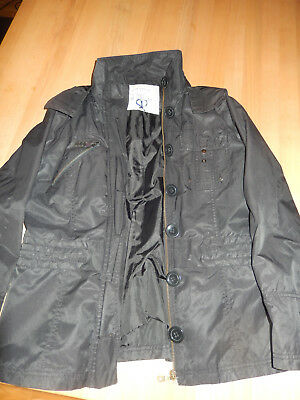 Gebraucht, Tom Taylor Übergangsjacke  schwarz Gr. L gebraucht kaufen  Döhlau