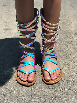 Gladiator Sandals For Toddlers (UNICORN GLADIATOR SANDALS YOUTH & TODDLERS)