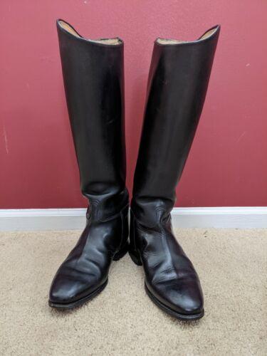 Konig equestrian riding boots 9 UK wide calf (#109)