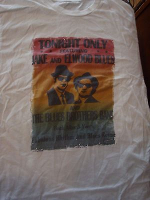 Classic Retro Blues Brothers T-Shirt, Size Large, Great Condition! Belushi