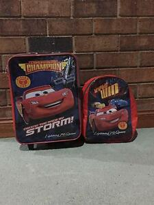 CARS Lightening McQueen small suitcase & backpack for toddler Teringie Adelaide Hills Preview