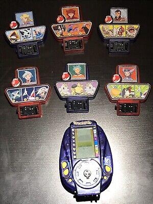 2002 POKEMON VIRTUAL V TRAINER BATTLE Toy Electronic Handheld Game Lot Nintendo