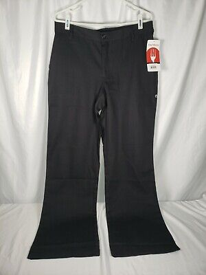 Chef Works Womens Professional Series Chef Pants -pw003-blk-medium