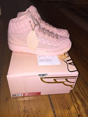Nike Air Jordan 2 Retro Just Don Arctic Orange Pink US 5.5 EU 38 UK 5