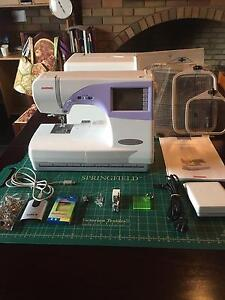 Janome Memory Craft MC 9500 Sewing and Embroidery Machine Bacchus Marsh Moorabool Area Preview